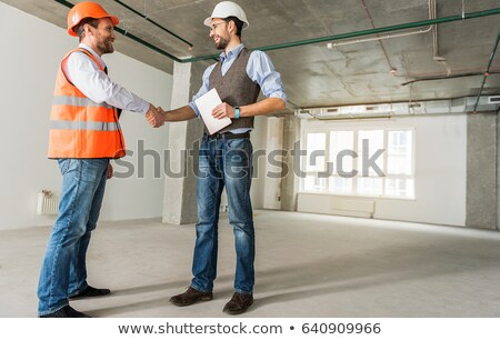 tradesman shaking the hand of an engineer stock photo © photography33