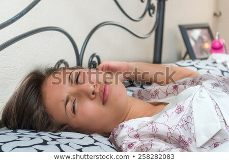 Portrait of an unwilling woman Stock photo © photography33