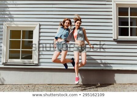 denim skirt 2 stock photo © dolgachov