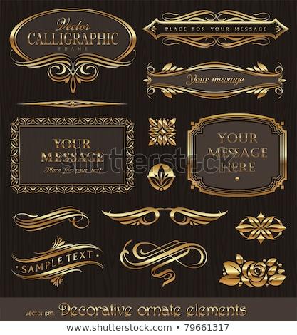 set · design · libro · frame - foto d'archivio © liliwhite