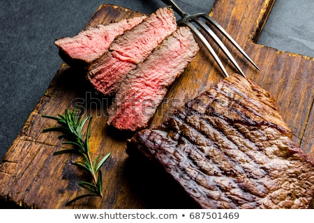 grilled slices of meat Stock photo © M-studio