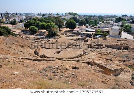 Roman Amphitheatre, Paphos, Cyprus Stock photo © Snapshot