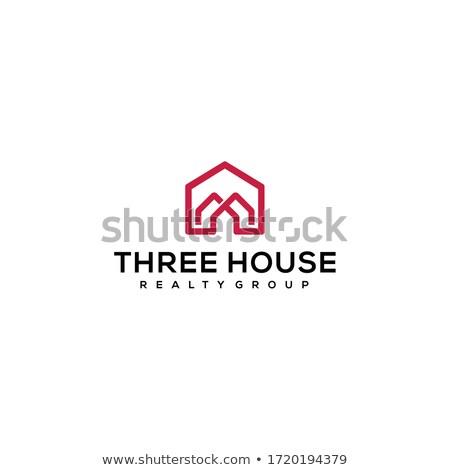 Three buildings stock photo © zzve