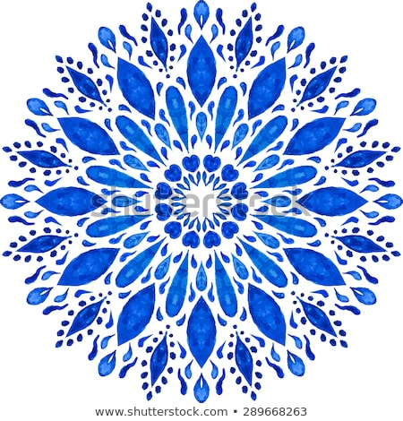 Vector Highly Detailed Lacy Snowflake  Stock photo © alexmakarova