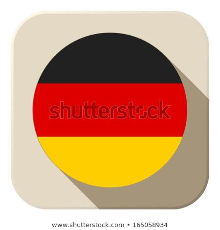 地図 · ドイツ · フラグ · バナー · ベクトル · 孤立した - ストックフォト © gubh83