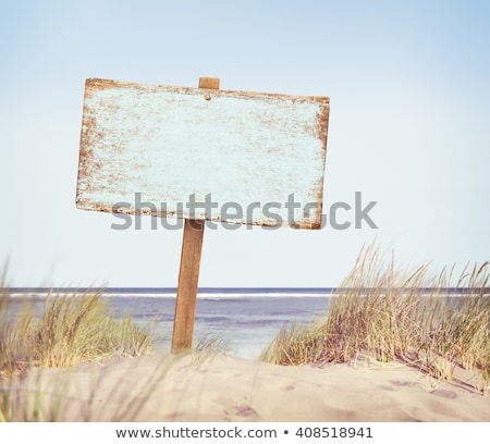 Sand Sign Stock photo © rghenry