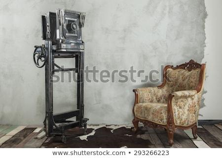 Stockfoto: Oude · camera · koffer · foto · retro