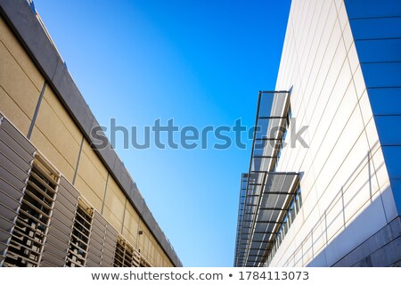 generic modern building without people stock photo © meinzahn