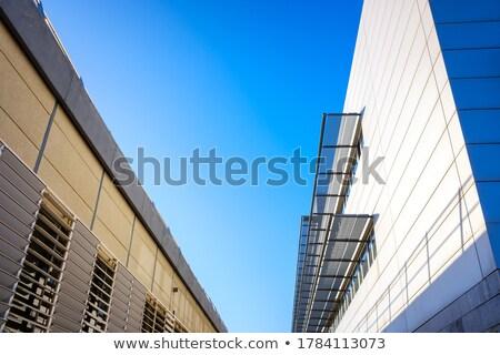 Stockfoto: Algemeen · modern · gebouw · mensen · buiten · kantoor · stad