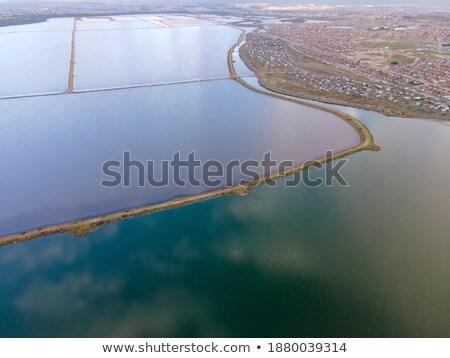 Miner's settlement (aerial view). Stock photo © Leonardi