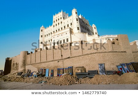 Palácio Iémen edifício arte viajar rei Foto stock © meinzahn
