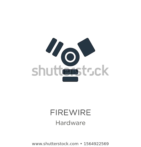 Usb and firewire connection ports. Stock photo © Nejron