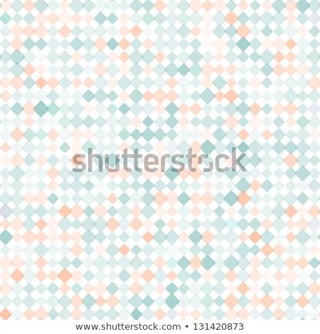 Seamless rounded color diamonds vector wallpaper. Stock photo © tuulijumala