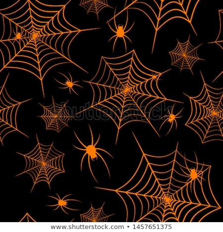 Feliz halloween fundo arte laranja papel de parede Foto stock © kiddaikiddee