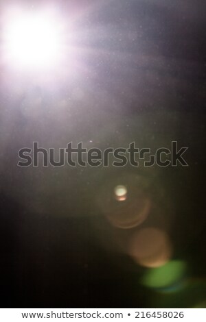 Real Lens Flare and Dusty Atmosphere Stock photo © aetb