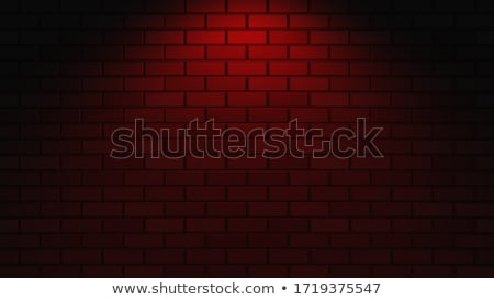 Black frame with blank space on brick wall. Stock photo © kyolshin