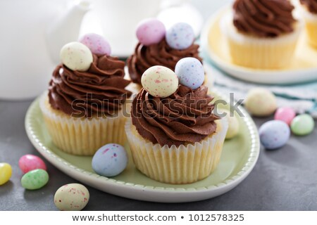 assortment of easter dessert stock photo © m-studio