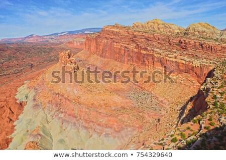 Arenaria montagna deserto scenico unità acqua Foto d'archivio © billperry
