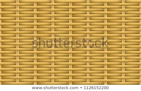 öreg fonott textúra viharvert barna minta Stock fotó © stevanovicigor