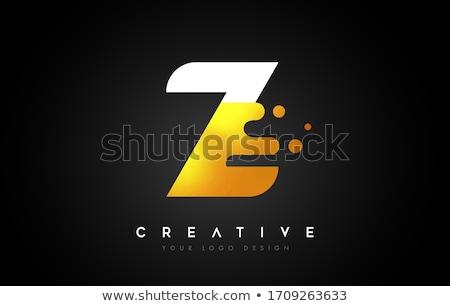 ötlet arany vektor ikon terv fekete digitális Stock fotó © rizwanali3d
