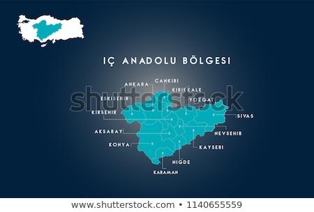 Map of Turkey, Nigde Stock photo © Istanbul2009
