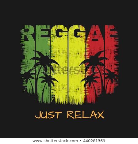 Jamaica flag on shirt Stock photo © fuzzbones0