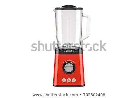 電気 ブレンダー キッチン カクテル 黒 マシン ストックフォト © shutswis
