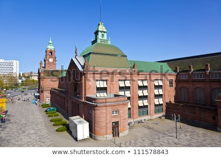 famous classsicistic old train station in Wiesbaden  Stock photo © meinzahn