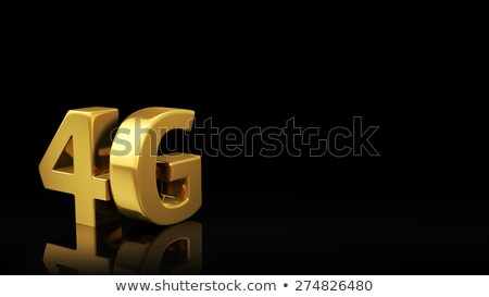 4G black slide Stock photo © timbrk