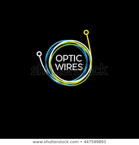 Cable, wires, wiring logo Stock photo © Ggs