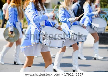 парад иллюстрация девушки весело подростку женщины Сток-фото © adrenalina