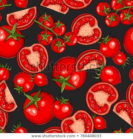 Vintage tomates texture style nature Photo stock © ConceptCafe