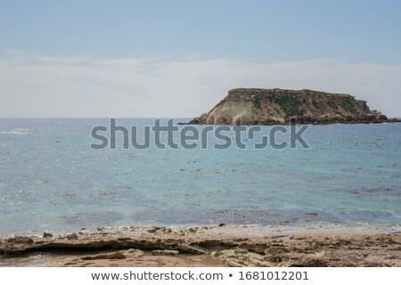 mooie · daglicht · Blauw · zee · groene - stockfoto © frimufilms