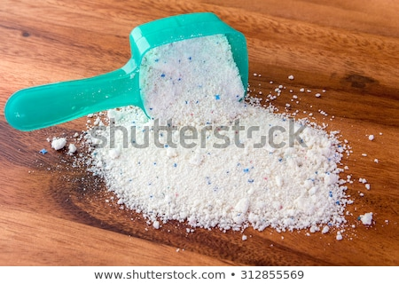 detergent in dosing cup for laundromat stock photo © ssuaphoto