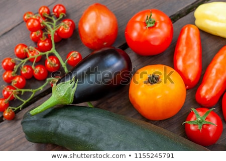 Padlizsán étel étel diéta konyha gasztronómiai Stock fotó © M-studio