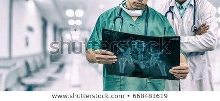 Maschio chirurgo Xray ospedale uomo Foto d'archivio © wavebreak_media
