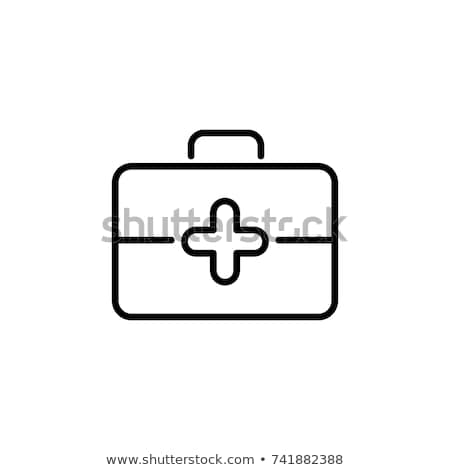 Doctor with Briefcase Icon Vector Illustration Stock photo © robuart