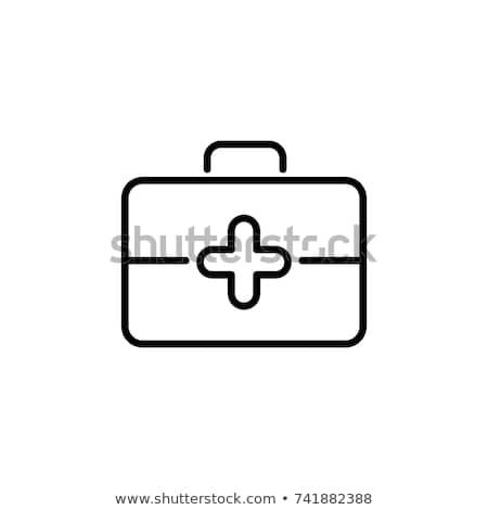 Médico maletín icono primer plano médico Foto stock © robuart