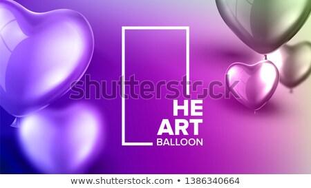 Renkli karnaval afiş vektör gerçekçi Stok fotoğraf © pikepicture