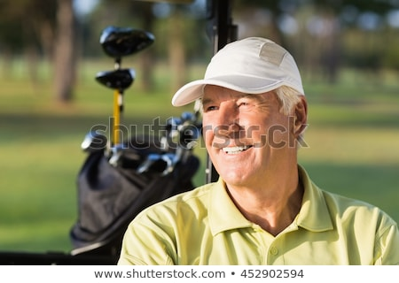 Close up of male senior golf player. Stock photo © lichtmeister