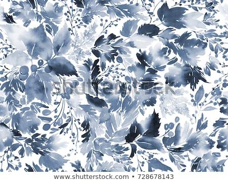 Résumé floral nature été vert noir Photo stock © AbsentA