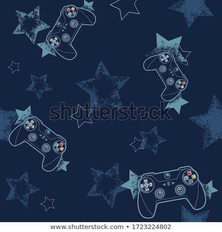 Cyber Sport Seamless Pattern Stock photo © Anna_leni