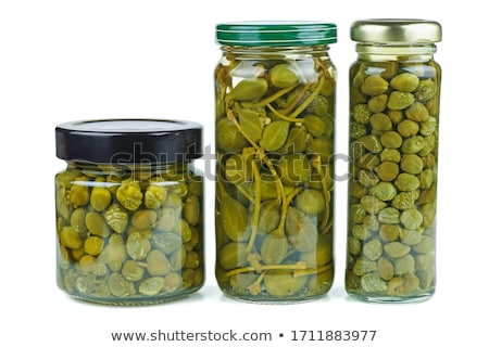 capers jar stock photo © foka