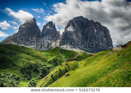 Sella and Sassolungo mountain Stock photo © Antonio-S