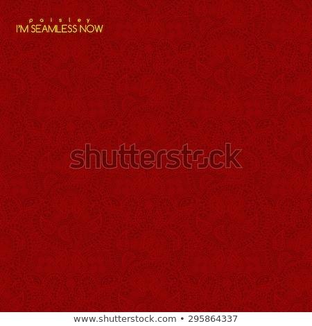 kırmızı · tığ · işi · model · doku · gıda · moda - stok fotoğraf © ruslanomega