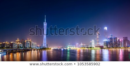 urban dusk the scenery in the background of modern architecture  Stock photo © Artphoto