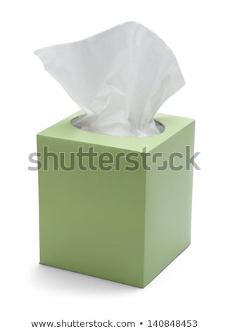 Green Box of Tissues Stock photo © Witthaya