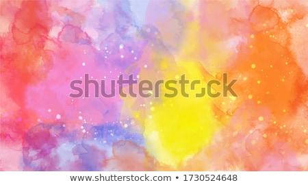 ヴィンテージ ベクトル ポスター デザイン 葉 技術 ストックフォト © krabata