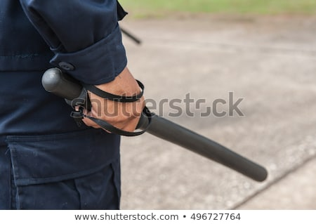 Police baton Stock photo © magraphics