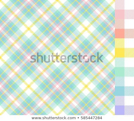 Húsvét végtelen minta pasztell szimbólumok formák szerkeszthető Stock fotó © Voysla